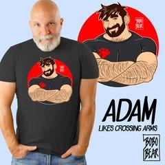 Adam Likes Folding Arms by Bobo Bear