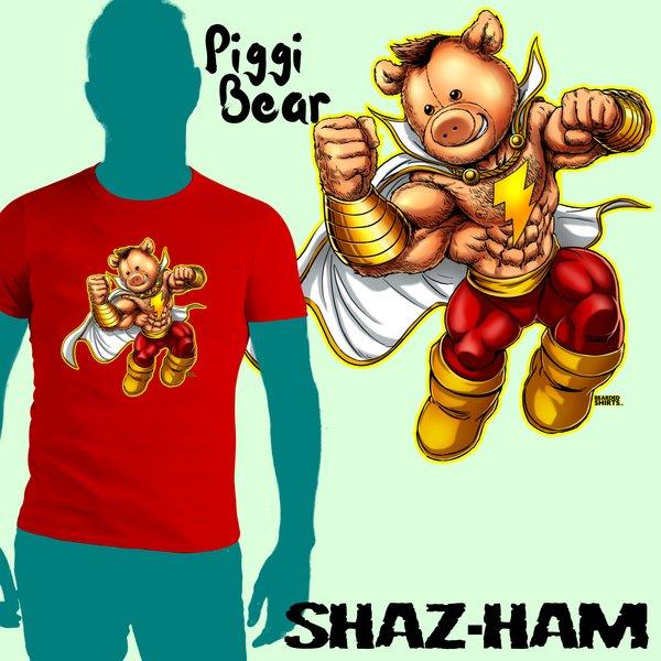 SHAZ-HAM Piggi Bear