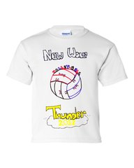 New Wave Volleyball by Kathe