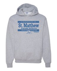 Jerzees #996 (Athletic/Heather) Hooded Sweatshirt
