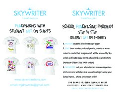 Skywriter Fundraising Brochure