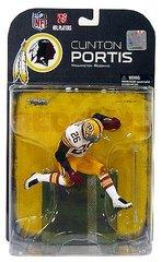 McFarlane NFL Series 19 Clinton Portis Washington Redskins