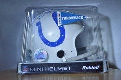 Hidden Treasures Autographed Mini Helmet Gino Marchetti Colts