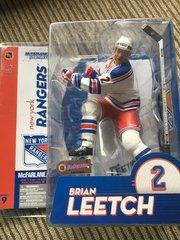 McFarlane NHL Series 9 Brian Leetch New York Rangers Chase