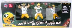 McFarlane NFL 3-Pack Rodgers/Matthews/Jennings Green Bay Packers