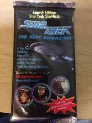 1994 Star Trek The Next Generation Launch Edition Stardiscs Foil Pack
