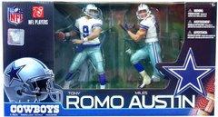 McFarlane NFL 2-pack Tony Romo & Miles Austin Cowboys