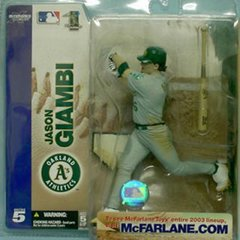 McFarlane MLB Series 5 Jason Giambi Oakland Athletics