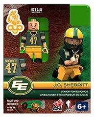 OYO CFL Series 1 J.C. Sherritt Edmonton Eskimos Minifigure