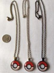 Pokemon Pokeball Novelty Chain Pendant Necklace