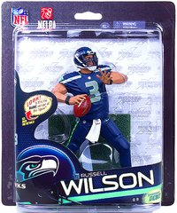 McFarlane NFL Series 33 Russell Wilson Seattle Seahawks