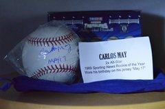 Hidden Treasures Baseball Bronx Edition Series 6 Carlos May