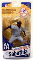 McFarlane MLB Series 26 CC Sabathia New York Yankees