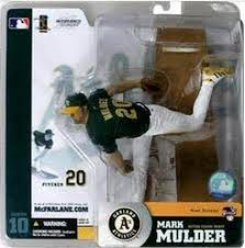 McFarlane MLB Series 10 Mark Mulder Oakland Athletics