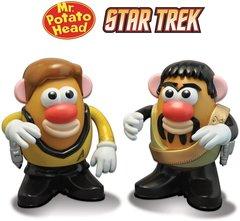 Star Trek Mr. Potato Head 2-Pack Captain Kirk & Klingon Kor
