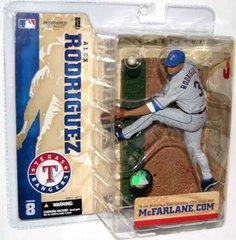 McFarlane MLB Series 8 Alex Rodriguez Texas Rangers Variant