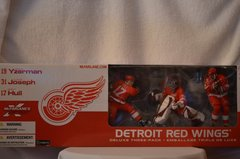 McFarlane NHL Deluxe 3-Pack Detroit Red Wings Joseph/Hull/Yzerman