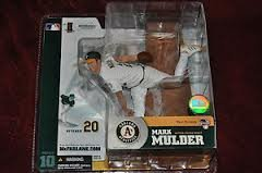 McFarlane MLB Series 10 Mark Mulder Oakland Athletics Variant