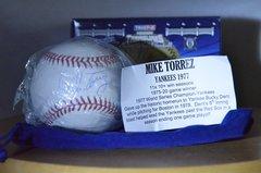 Hidden Treasures Baseball Bronx Edition Series 6 Mike Torrez