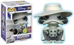Funko Pop! Disney: Darkwing Duck - Negatron #300 - Exclusive Glow in the Dark