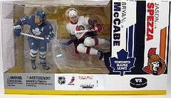 McFarlane NHL 2-pack Bryan McCabe Maple Leafs/ Jason Spezza Senators