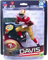 McFarlane NFL Series 32 Vernon Davis San Francisco 49ers Sports Picks Debut