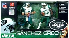 McFarlane NFL 2-pack Mark Sanchez & Shonn Greene NY Jets