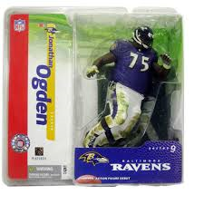 McFarlane NFL Series 9 Jonathan Ogden Baltimore Ravens