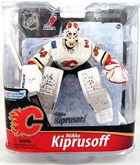 McFarlane NHL Series 28 Mikka Kiprusoff Calgary Flames Exclusive