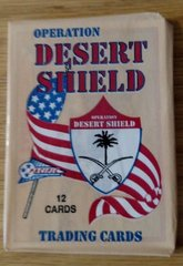 1991 PACIFIC TRADING CARDS OPERATION DESERT SHIELD 12 CARDS