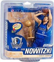 McFarlane NBA Series 21 Dirk Nowitzki Dallas Mavericks with Trophy