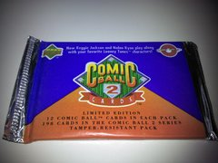 1991 Upper Deck Comic Ball 2 Cards, Limited Edition, Pack Of 12 Cards