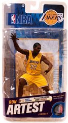 McFarlane NBA Series 18 Ron Artest Los Angeles Lakers