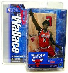 McFarlane NBA Series 12 Ben Wallace Chicago Bulls OPENER
