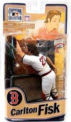 McFarlane MLB Cooperstown 8 Carlton Fisk Boston Red Sox