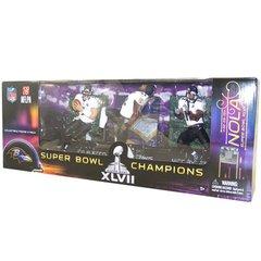 McFarlane NFL 3-Pack Super Bowl 2013 Flacco-Lewis-Jones Baltimore Ravens
