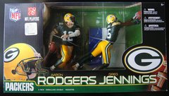 McFarlane NFL 2-pack Aaron Rodgers & Greg Jennings Packers