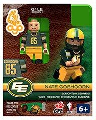 OYO CFL Series 1 Nate Coehoorn Edmonton Eskimos Minifigure