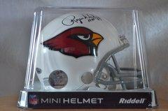 Hidden Treasures Autographed Mini Helmet Roger Wehrli Cardinals