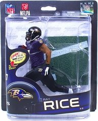 McFarlane NFl Series 32 Ray Rice Baltimore Ravens