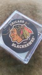 NHL Autographed Puck Stan Mikita Chicago Blackhawks