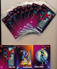 IMPEL 1992 MARVEL PROTOTYPE CARD SET OF 3 SEALED PACKS