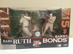 McFarlane MLB 2-pack Babe Ruth 714 Yankees & Barry Bonds 715 Giants