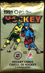 1991 O-Pee-Chee Premier Hockey Cards Foil Pack