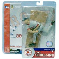 McFarlane MLB Series 10 Curt Schilling Boston Red Sox Variant