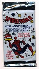 1992 Spiderman II 30th Anniversary Trading Cards Foil Pack