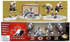 McFarlane NHL 4-pack Team Canada Chris Pronger/ Curtis Joseph/ Steve Yzerman/ Mario Lemieux