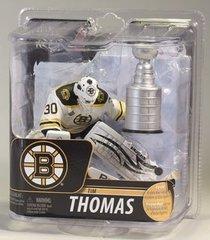 McFarlane NHL Series 29 Tim Thomas Boston Bruins with Cup OPENER