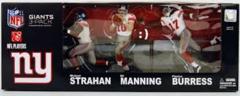 McFarlane NFL 3-Pack Super Bowl 2008 Manning/Strahan/Burress NY Giants