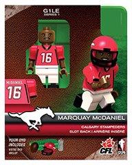 OYO CFL Series 1 Marquay McDaniel Calgary Stampeders Minifigure